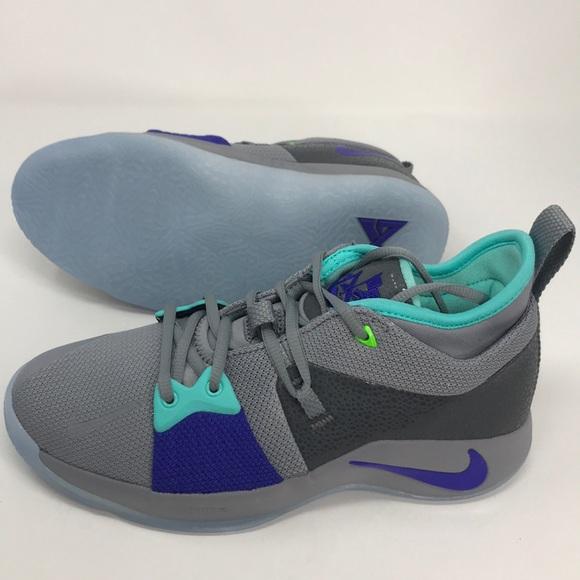 the best attitude 8fa9e a7e43 Nike PG 2 grey blue teal GS kids